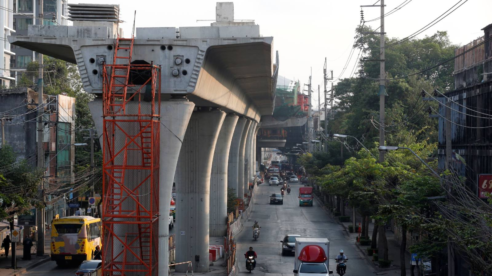 Sino-Japanese cooperation thrown off track over Thai rail project