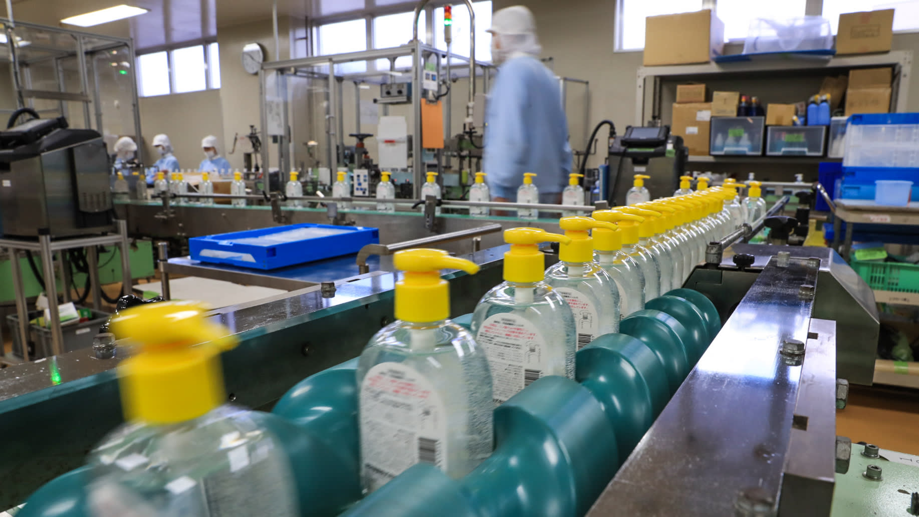 Japan S Cosmetics Makers And Distillers Rush To Make Sanitizers Nikkei Asia