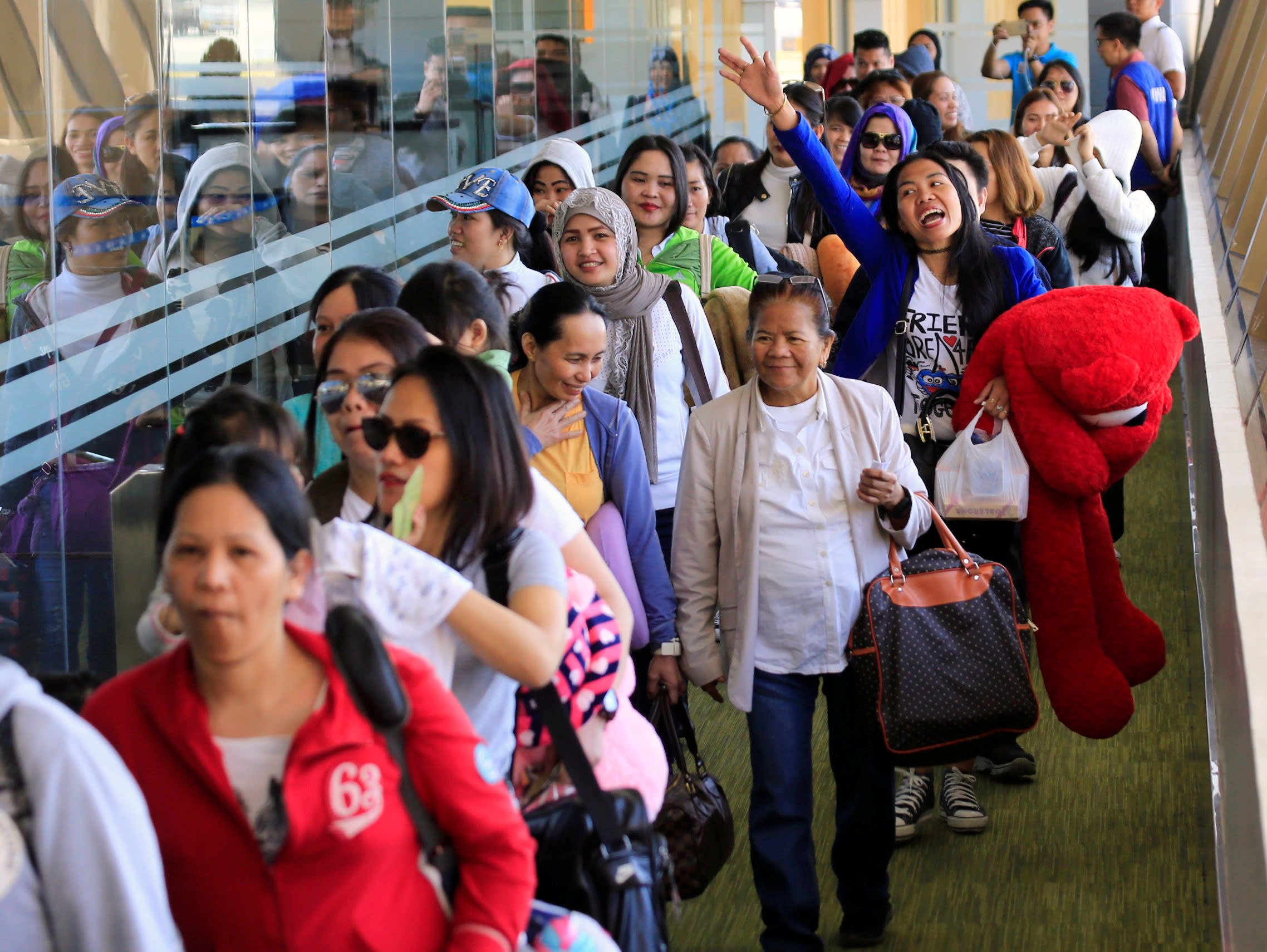 poland cracks door open for filipino workers nikkei asian review