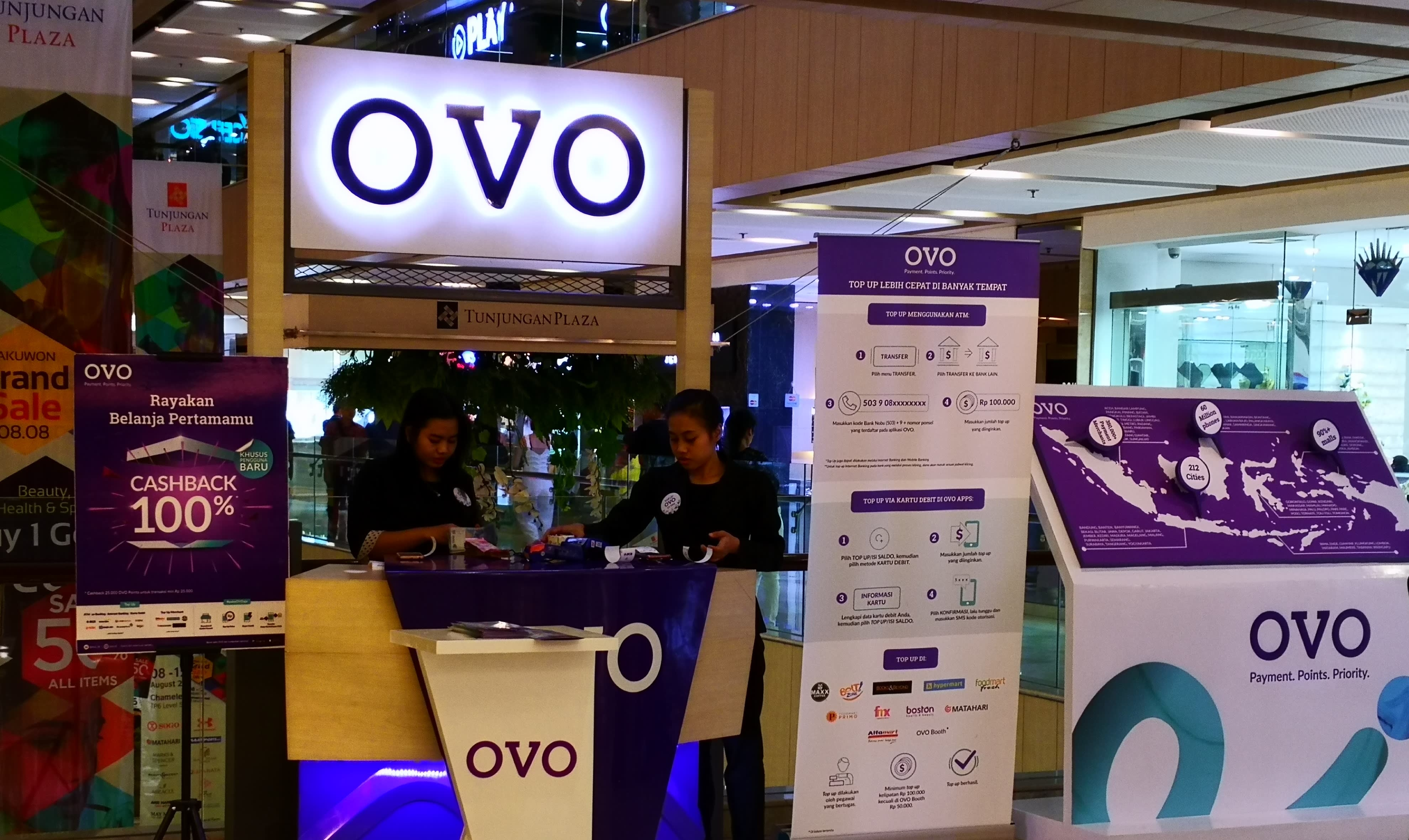 Image result for OVO Ant Financial