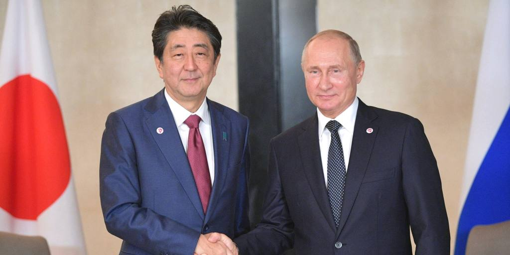 Putin and Abe agree to speed up peace treaty talks: Kremlin