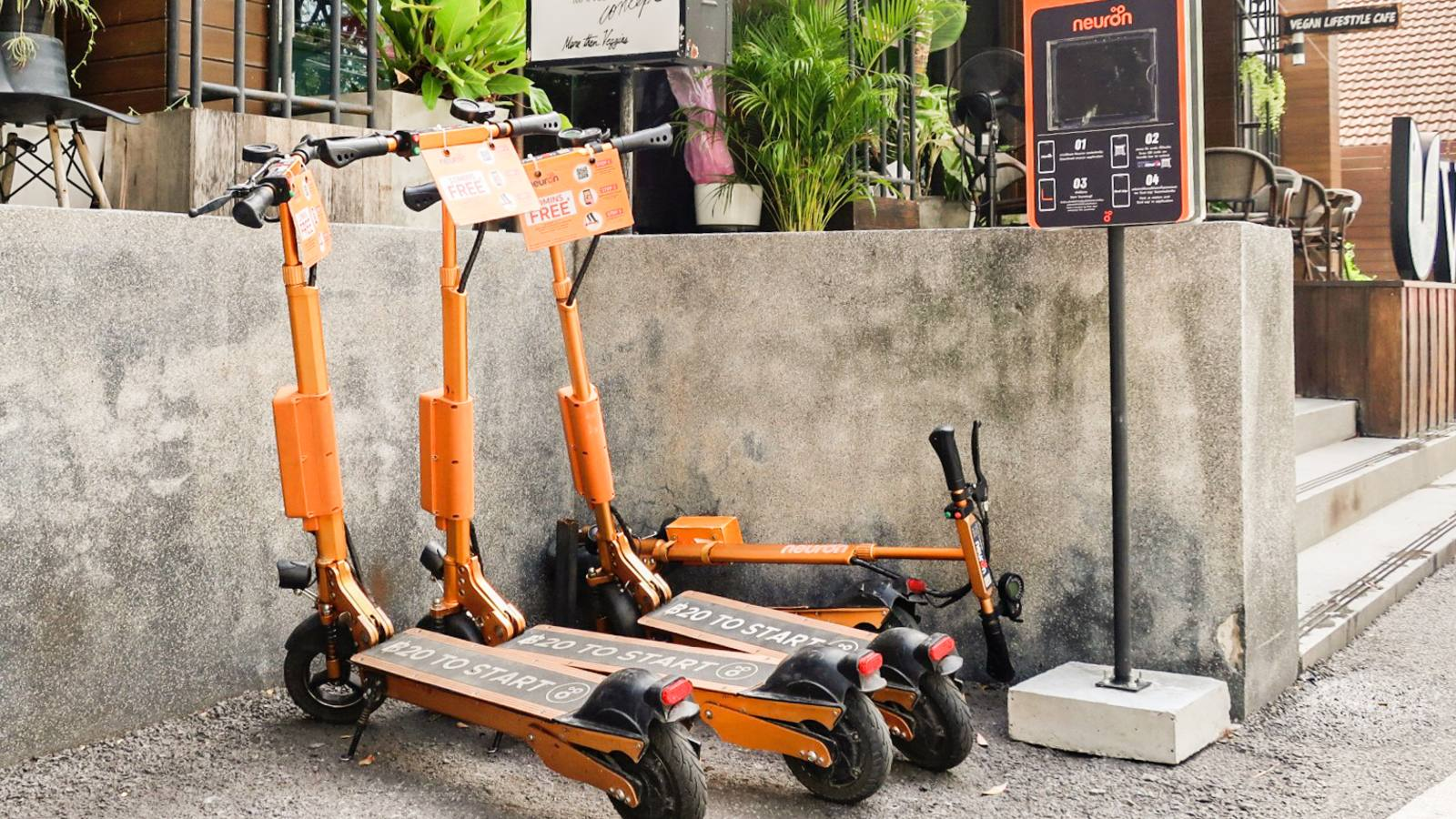 E-scooter sharing services help people get around in Thailand - Nikkei Asia