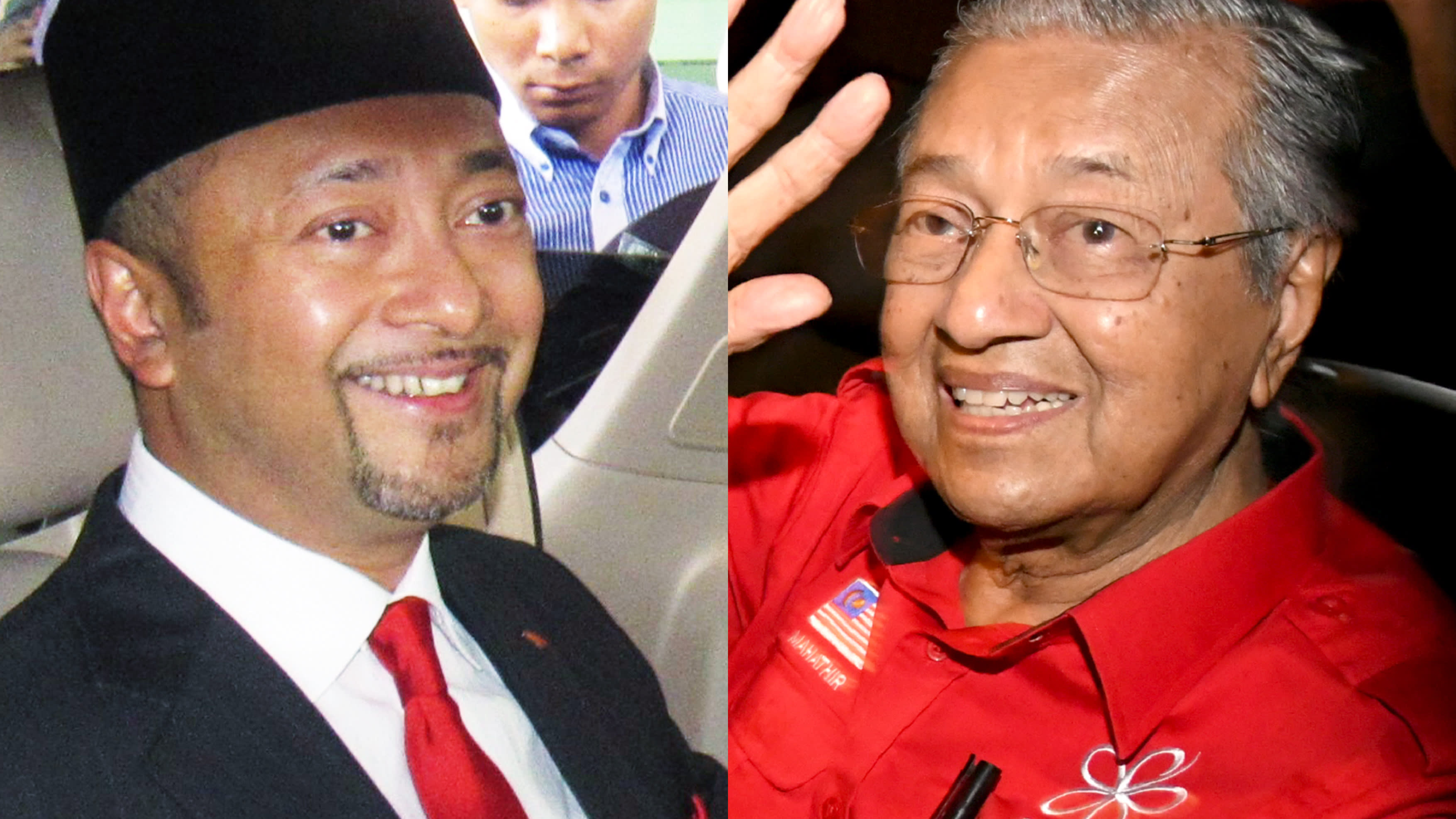 Image result for images of mahathir with mukhriz
