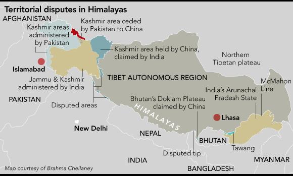China's Bhutan land grab aims at bigger target - Nikkei