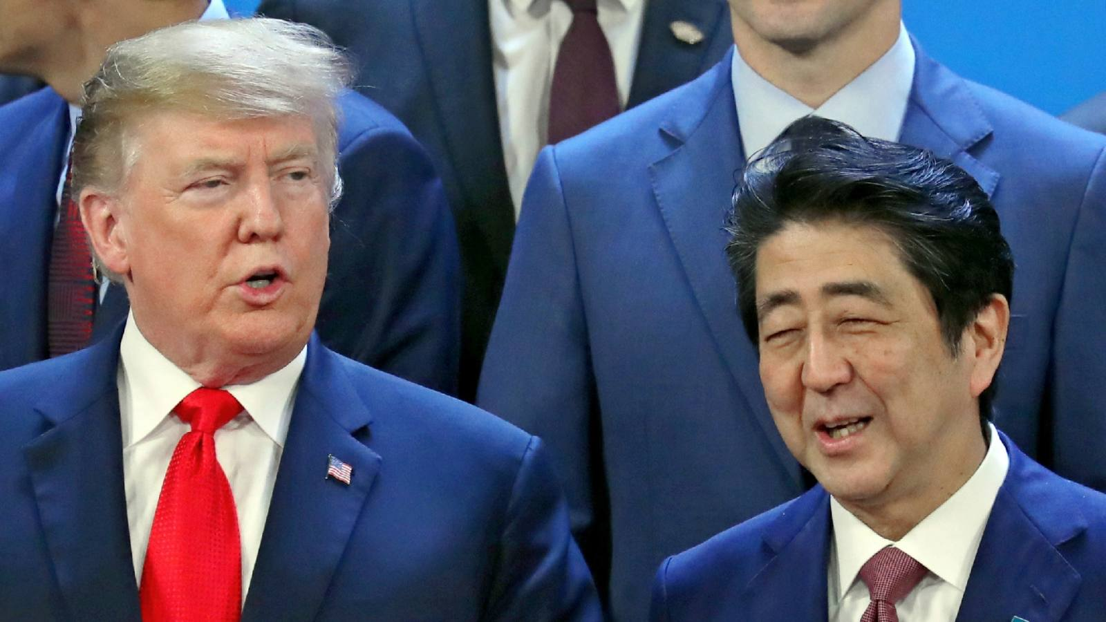 Japanese Prime Minister Shinzo Abe has approached U.S. President Donald Trump about possibly becoming the first foreign leader to meet Japan's incoming emperor after he ascends the throne May 1.