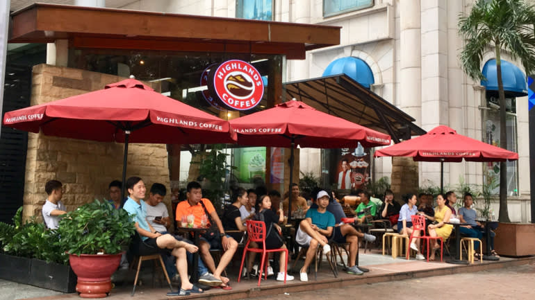 Vietnamese coffee scene heats up while Starbucks takes its time
