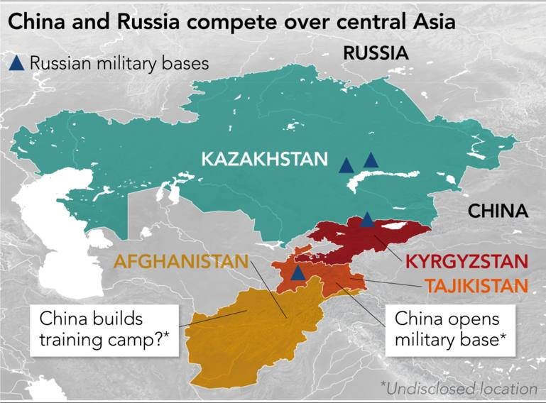 Russia and China romance runs into friction in Central Asia - Nikkei on commonwealth of independent states russia map, jewish autonomous oblast russia map, kalmykia russia map, united states russia map, bermuda russia map, slovakia russia map, dushanbe russia map, france russia map, croatia russia map, albania russia map, north asia russia map, iceland russia map, latvia russia map, malta russia map, ashgabat russia map, south ossetia russia map, canada russia map, samarkand russia map, tobol river russia map, india russia map,