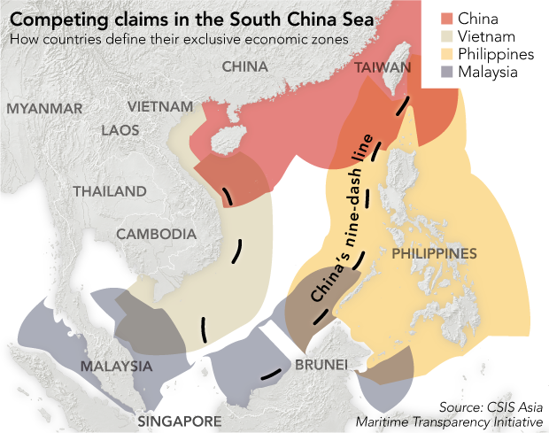 How Beijing is winning control of the South China Sea