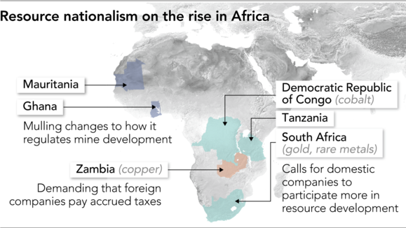 Resource nationalism' clouds China's Africa ambitions - Nikkei Asian