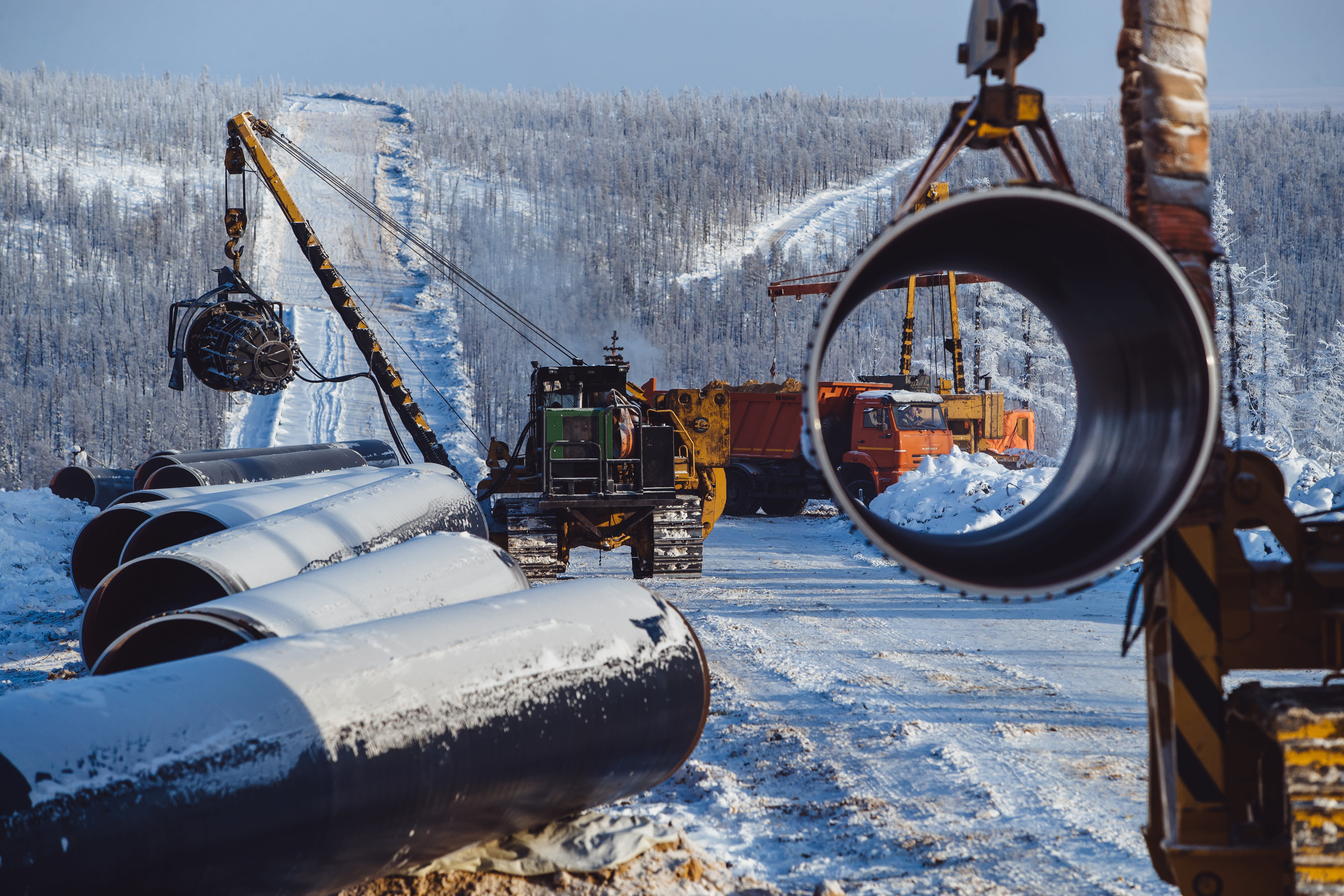 Russia's $55bn pipeline gamble on China's demand for gas