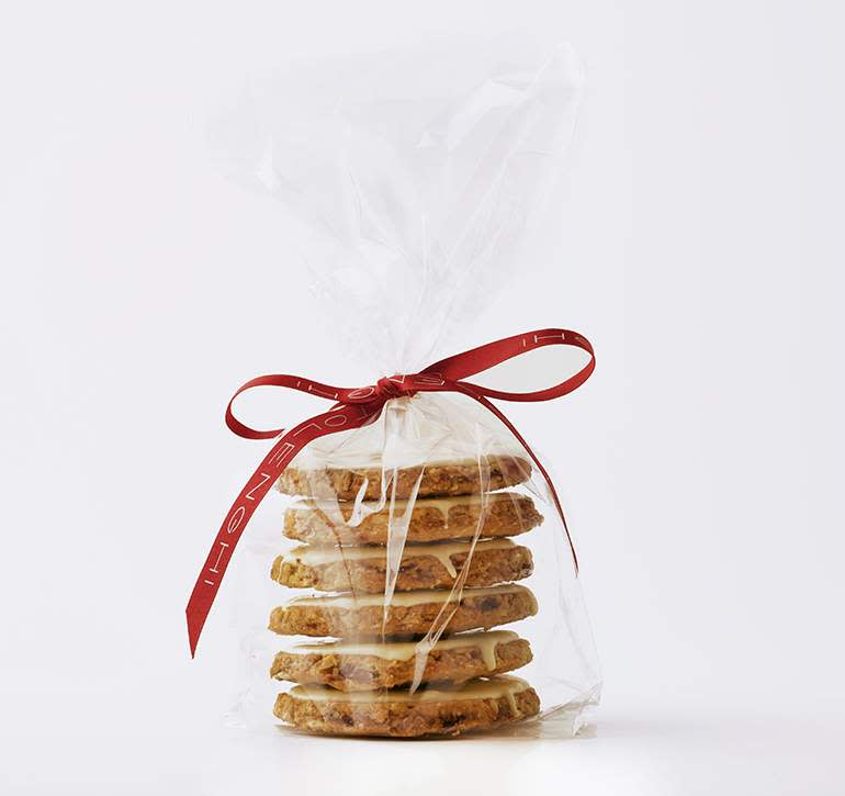Ottolenghi cranberry and oat cookies, £6.50