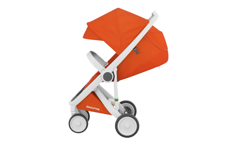 Greentom stroller, made with recycled and natural materials, €249