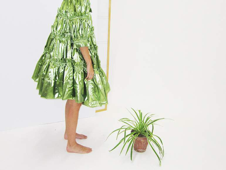 Molly Goddardmetallic Dance dress, $1,145
