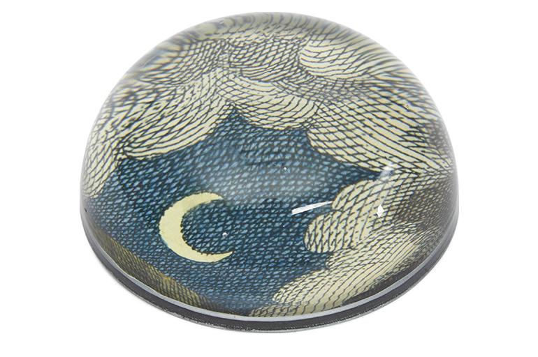 John DerianClouds Crescent Moon paperweight, £59.95