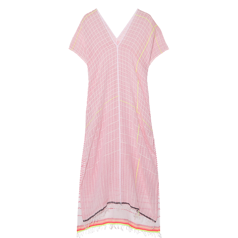 LemLem is an artisan-driven fashion and homeware brand and home goods made in Africa, kaftan, £355