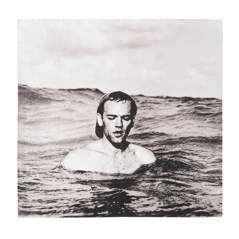 R.E.M. + Paul Smith silk Michael Stipe pocket square, £50