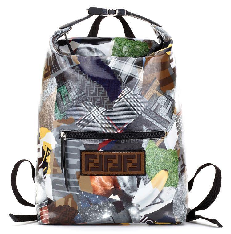 Fendi menswear bag featuring Reilly graphics. 43df9aef3b181