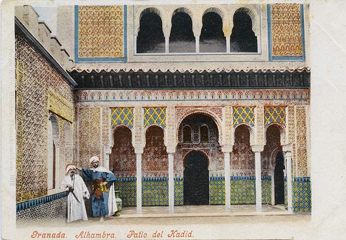 The Alhambra citadel in Granada. Allan Seiden, Legacy Archive/Getty