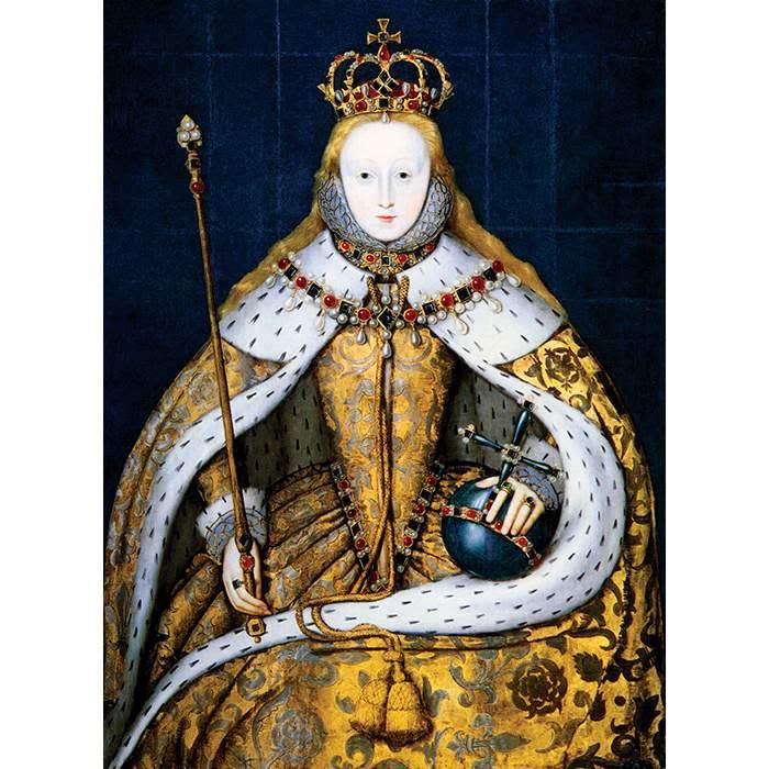 The coronation of Elizabeth I, 1559 ©Photo12/UIG via Getty
