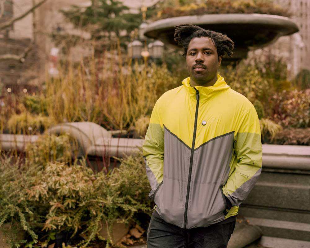 Sampha, the experimental British pop singer and electronic producer, in New York last year. ©Andre D Wagner\/The New York Times\/Redux\/Eyevine