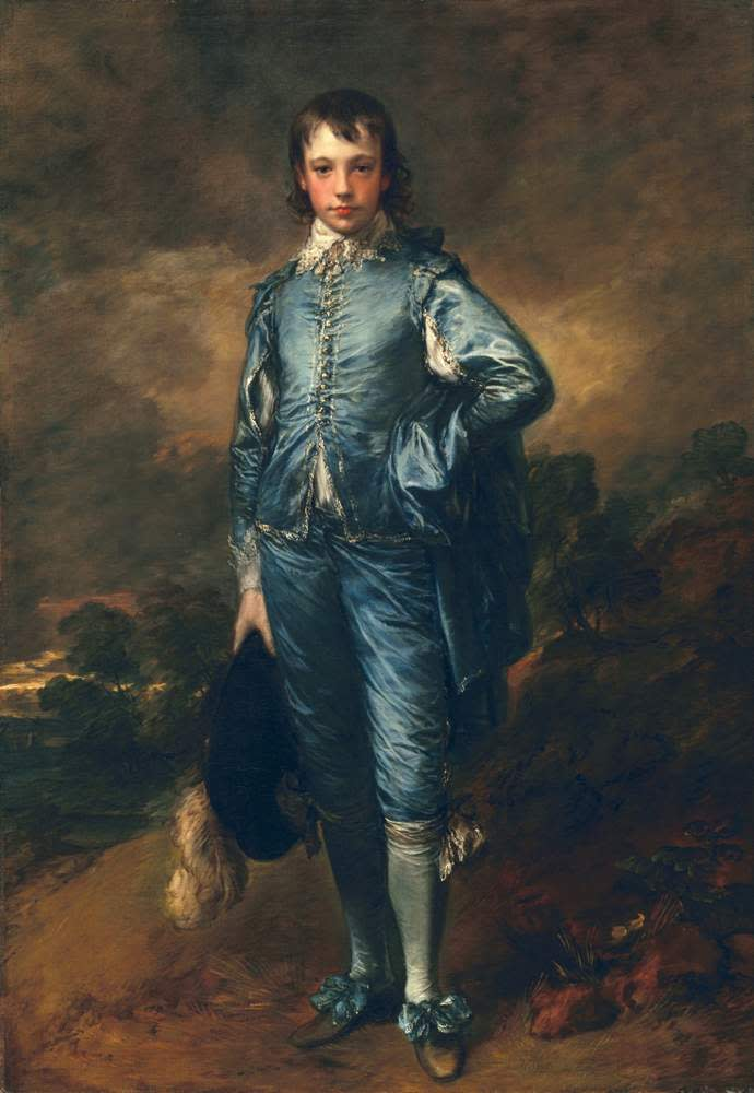 The Blue Boy, c1770 (oil on canvas) by Thomas Gainsborough, Huntington Library and Art Gallery, CA, USA ©The Huntington Library, Art Collections & Botanical Gardens