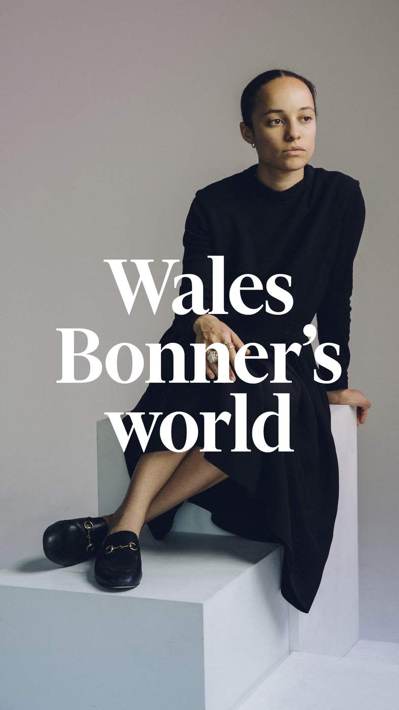 07d9081368a2e Grace Wales Bonner ©Greg Funnell for the FT. Charlie Porter talks to the  young menswear designer ...