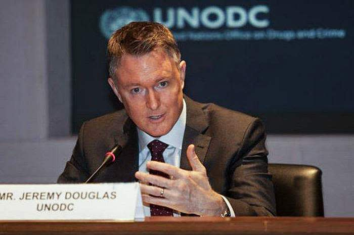 Jeremy Douglas, who oversees the south-east Asia and Pacific operations of the UN Office on Drugs and Crime