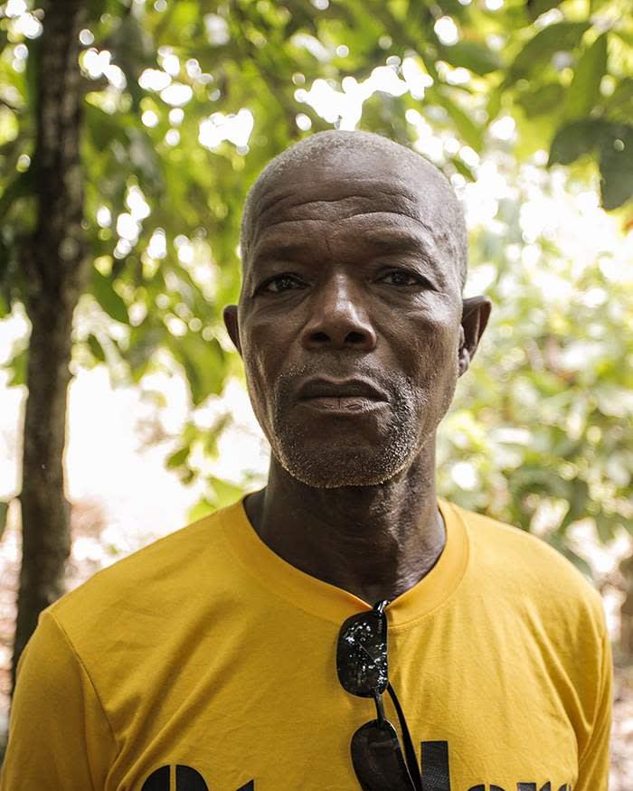 Family business: farmer Bledgi Yode