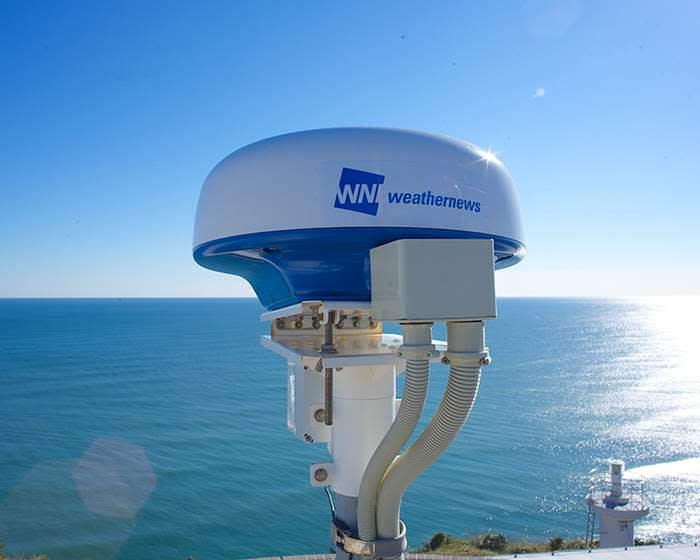 Weathernews' tsunami radar