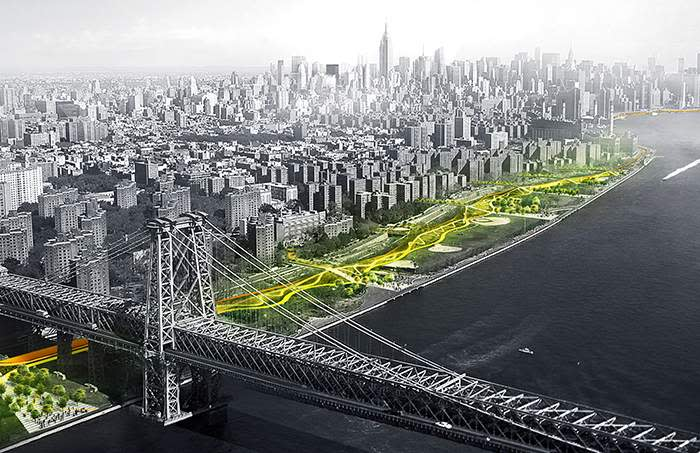Plans for the East Side Coastal Resiliency Project