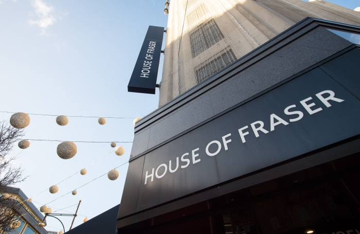 Pensions regulator in talks with House of Fraser