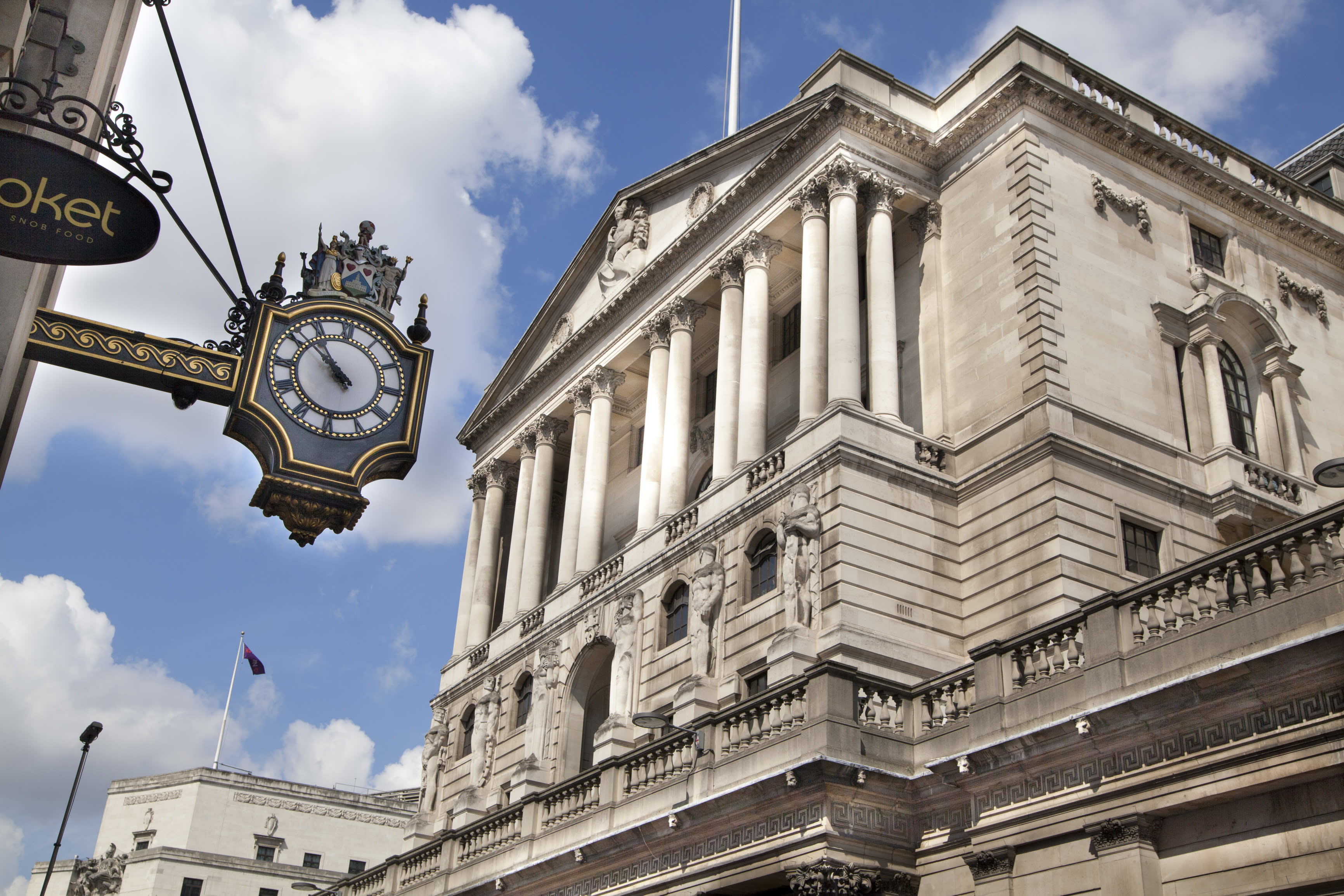 Inflation overshoots BoE target in rise to 2.1 per cent