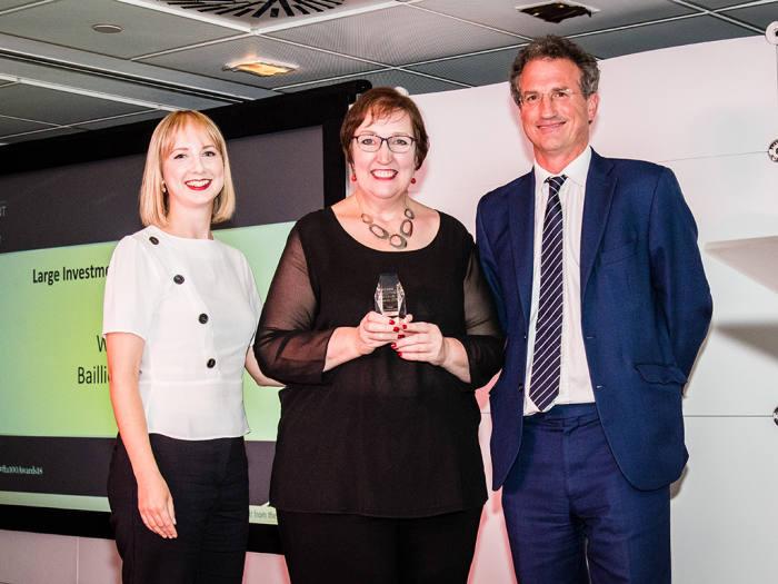 Baillie Gifford scoops top award in FTAdviser 100 Club
