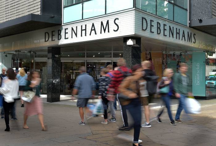 Pensions regulator in talks with Debenhams
