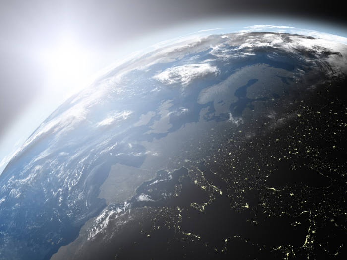 Seeing the bigger picture over planet earth