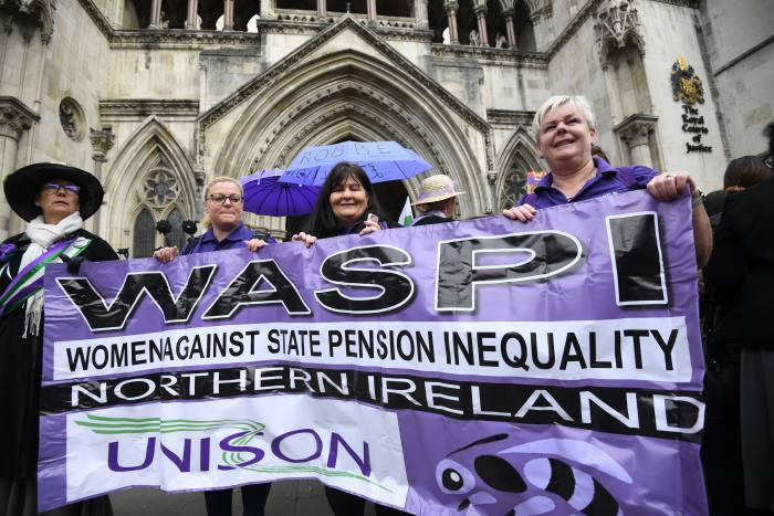 Waspi women call for state pension access