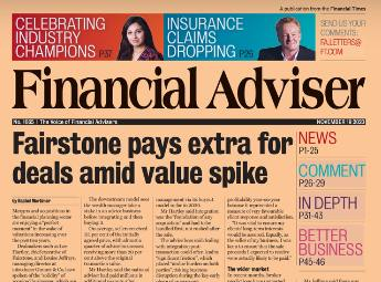 Read it now: M&A valuations spike & IFA success over missing £55k