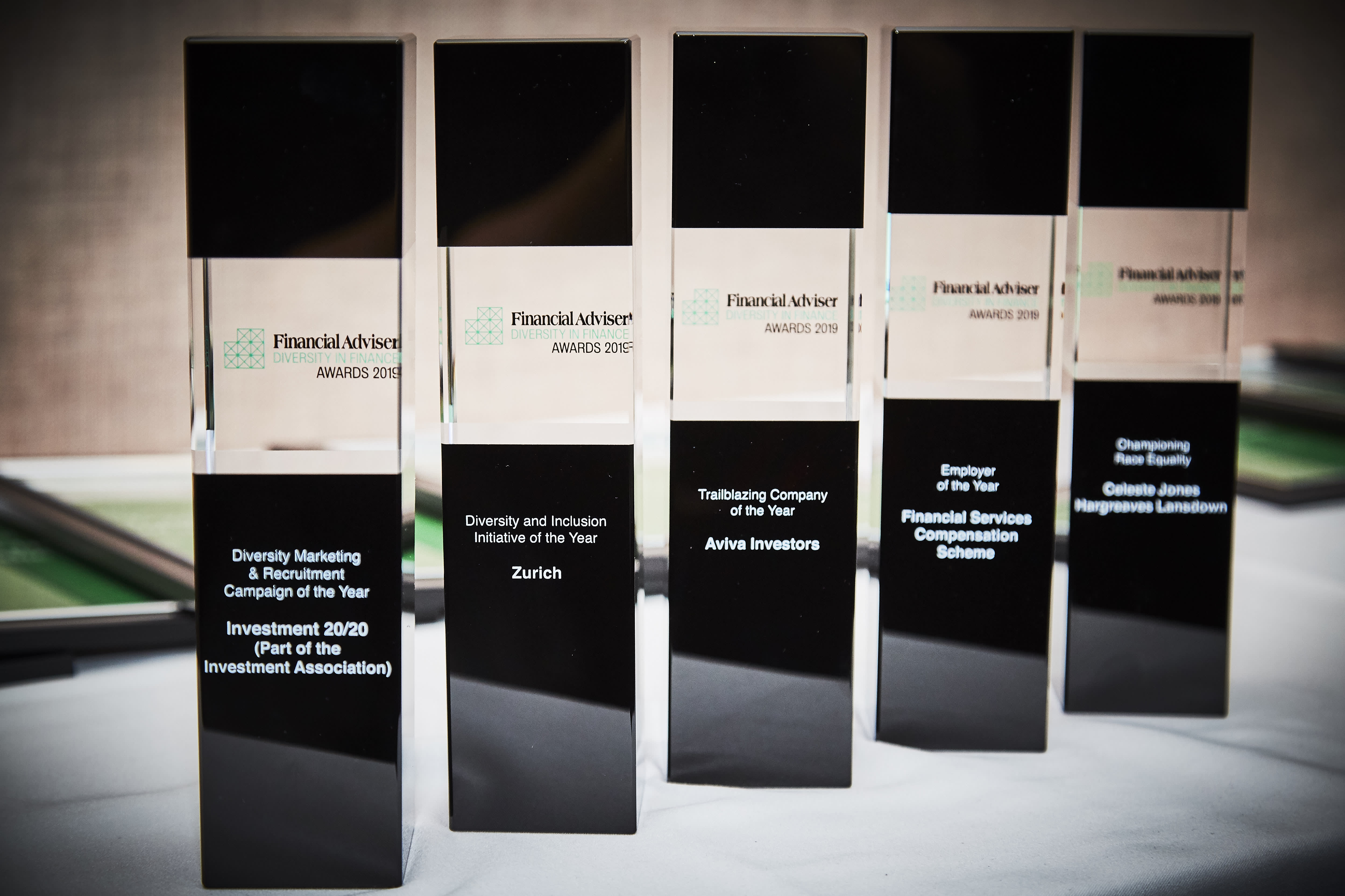 Diversity in Finance Awards - who's on the shortlist?