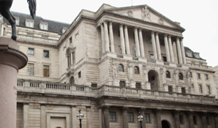 Bank of England warns finance firms on Bitcoin exposure