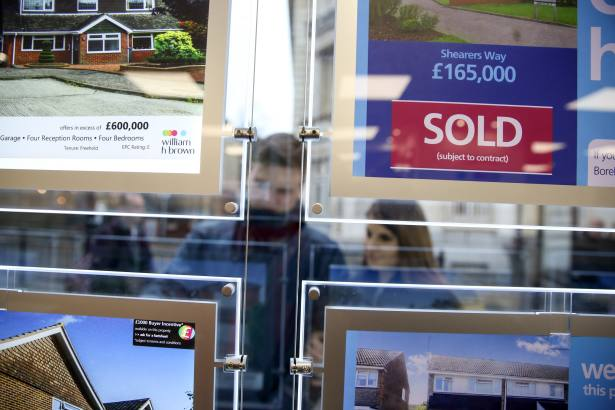 House price growth slows after eight-month upwards trend