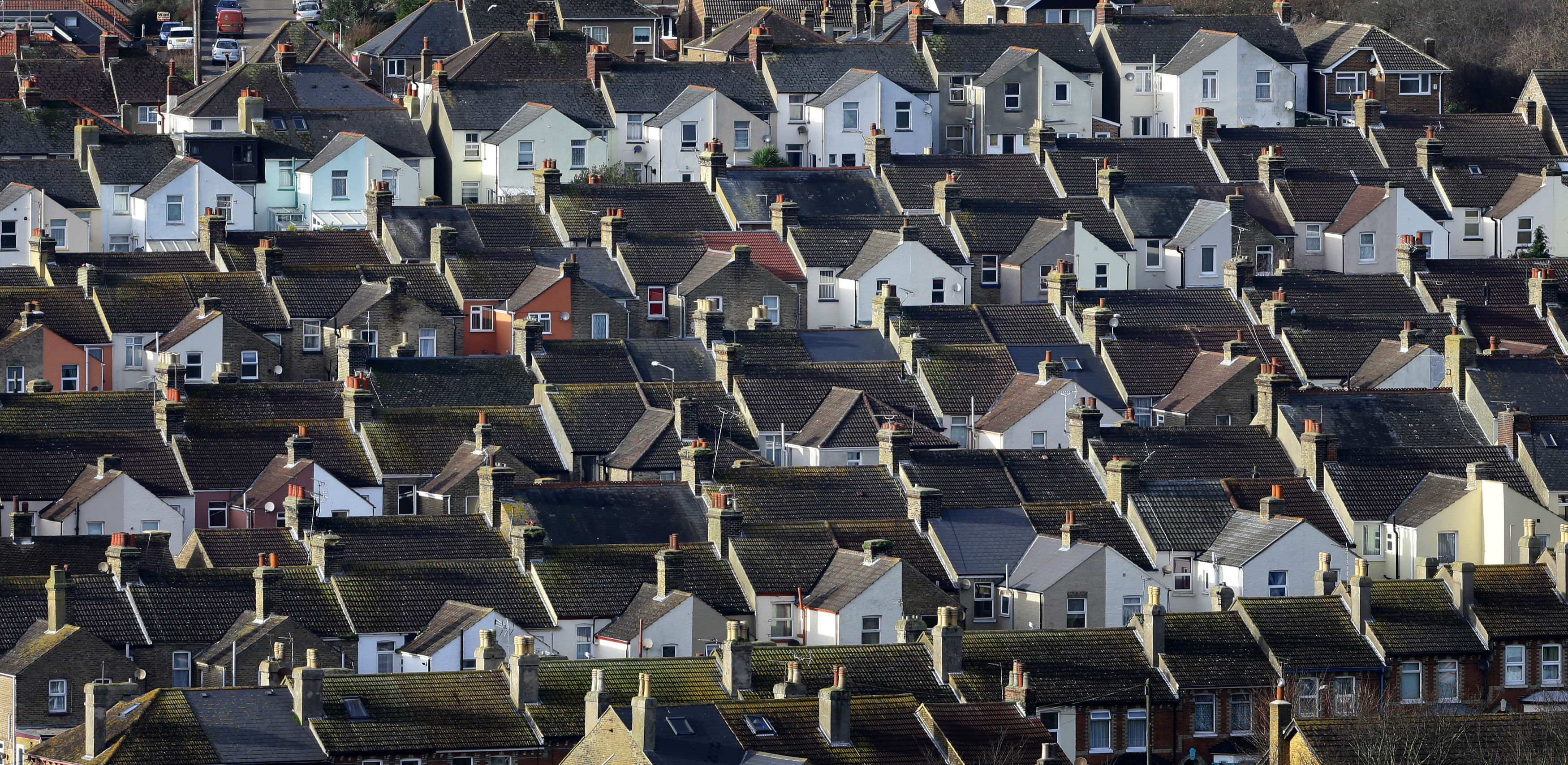 UK housing market 'on its knees'