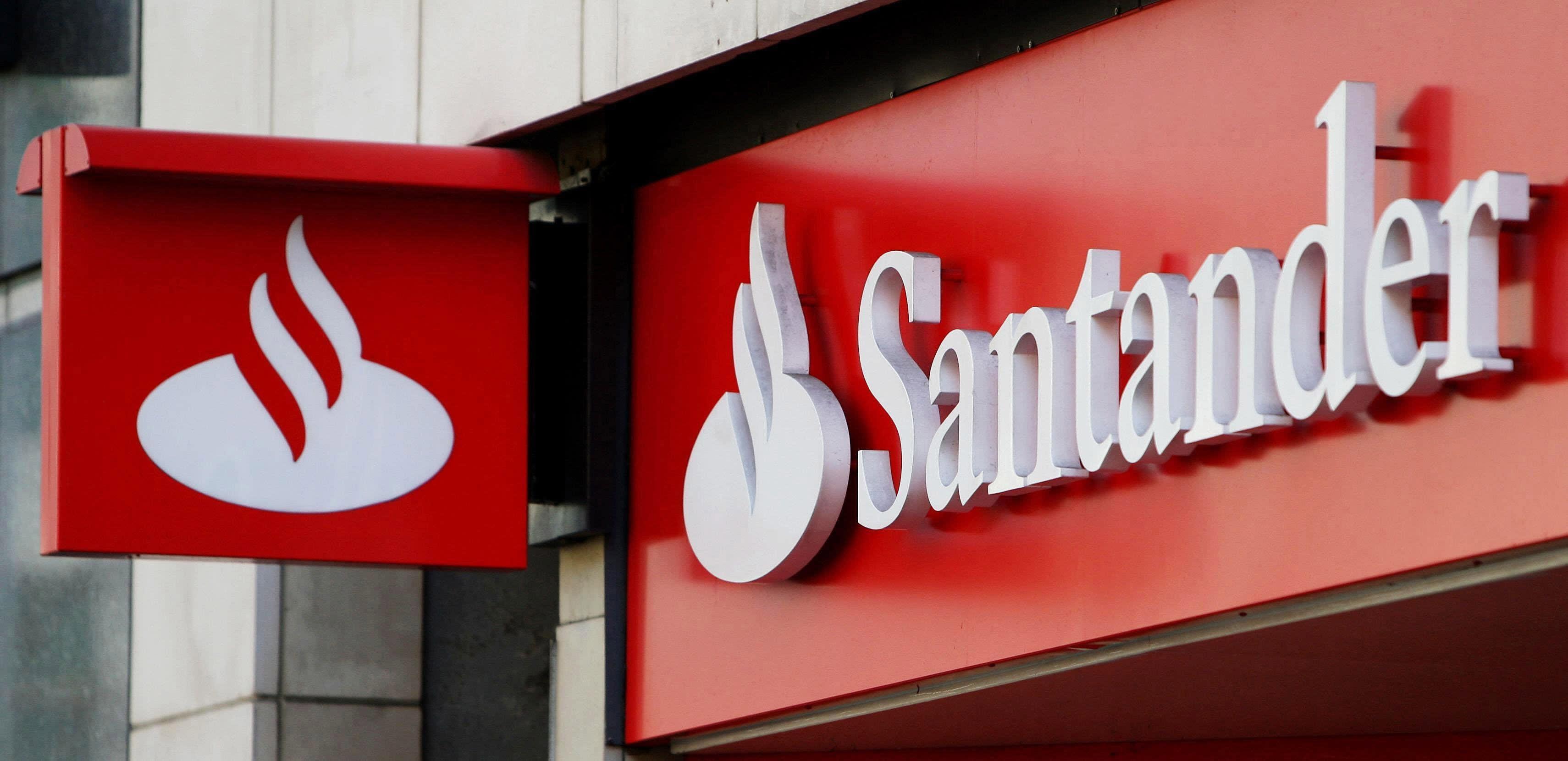Santander profits drop amid cost pressures