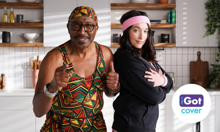 Broker teams up with Mr Motivator to promote cover
