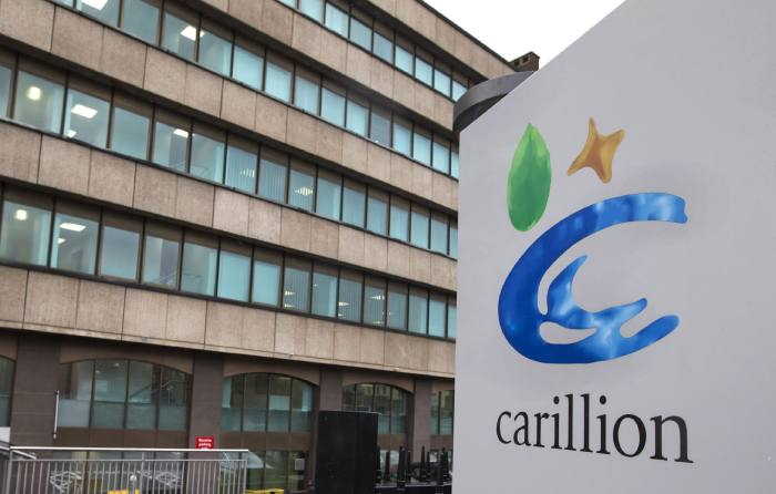 PPF sets end date for Carillion assessments
