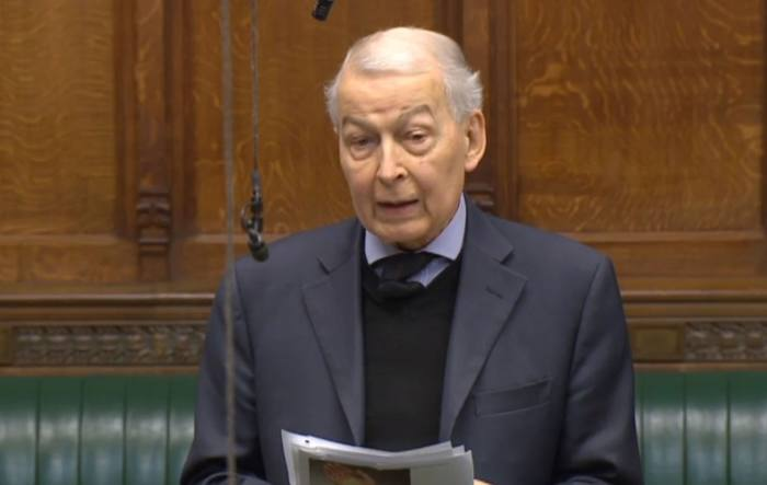 Field questions minister on Pensions Bill