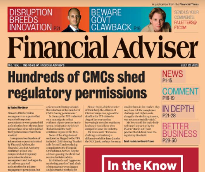Read it Now: CMCs shed permissions & adviser vulnerability revealed