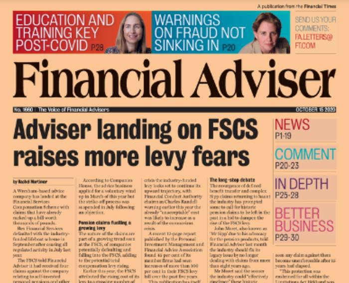 Read it now: Another firm falls into FSCS & Sanlam defends fee hike