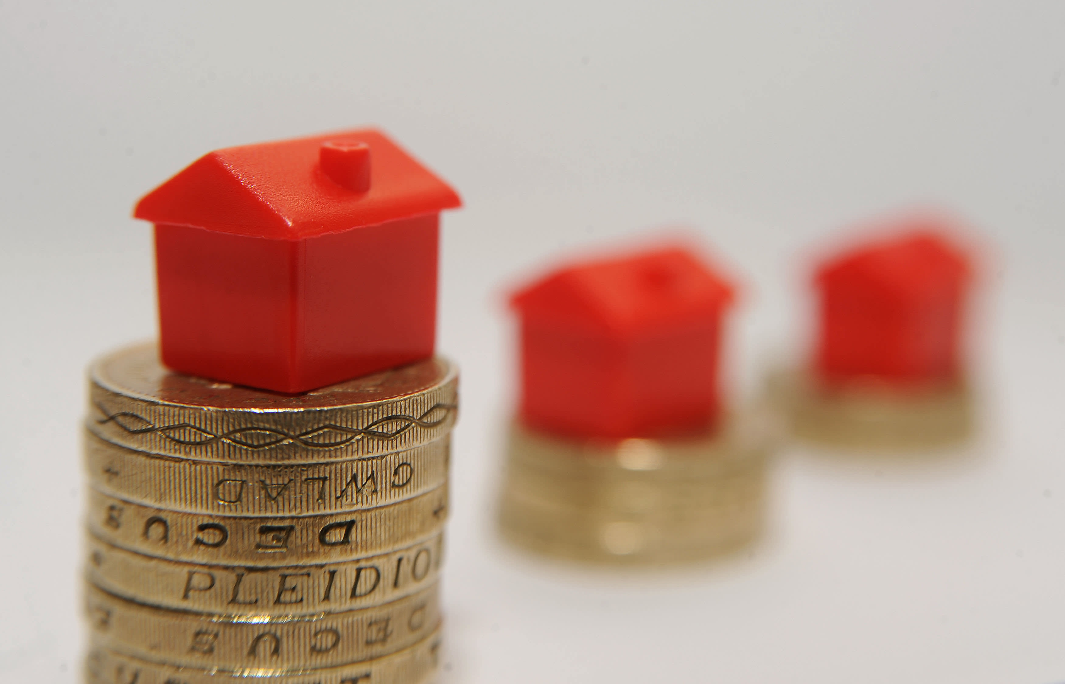 UK house prices on the rise