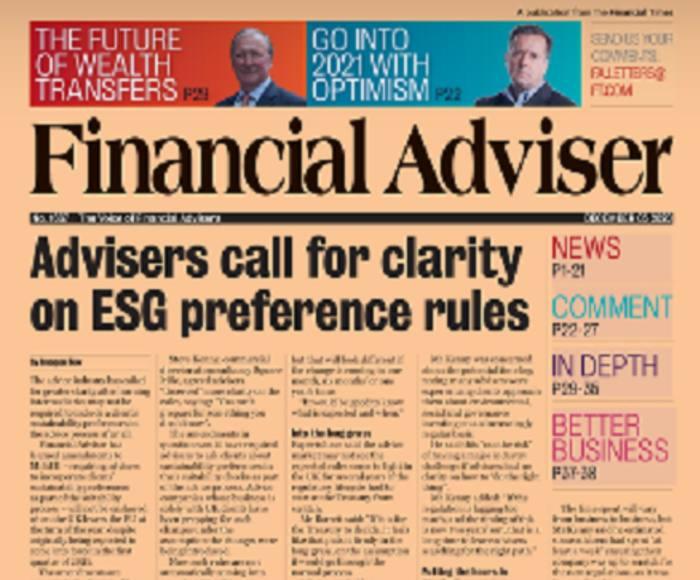 Read it now: ESG regulatory confusion & GPs delay cover