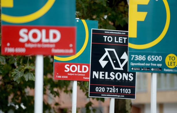 How is the mortgage sector providing for properties?